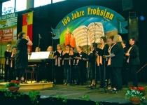 Singen beim 100-jährigen Jubiläum des Frohsinn Bellheim