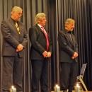Jubilare 2012 Hans Riessler, Werner Ockuly und Klaus Sauer